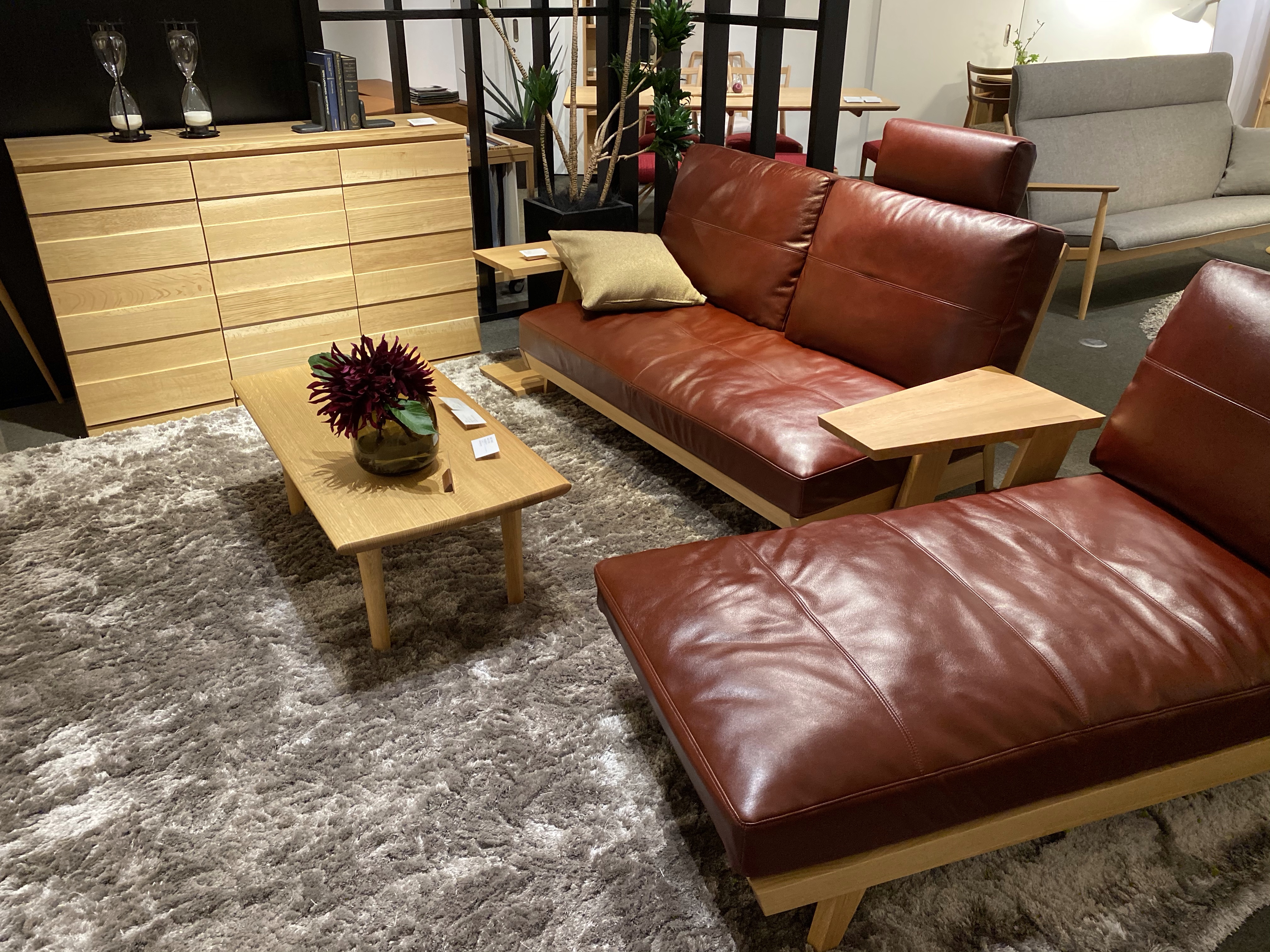 日進木工・ホワイトウッド Sofa & Couch