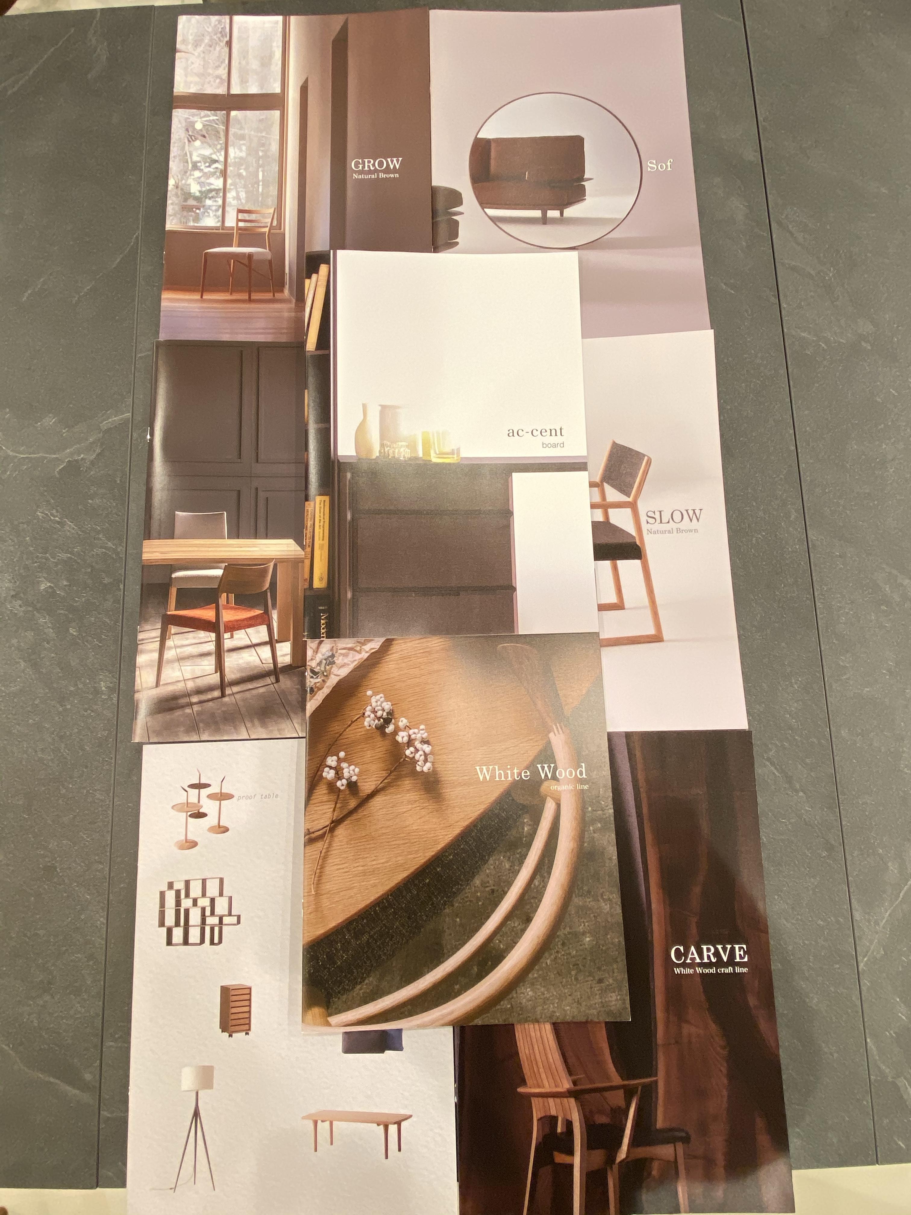 日進木工から新カタログが到着しました