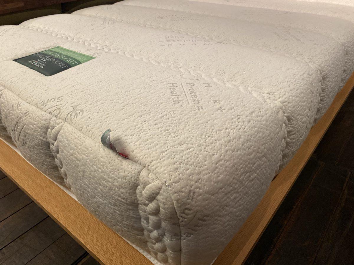東京スプリング・アワーグラスロイヤルの表面生地の縫製