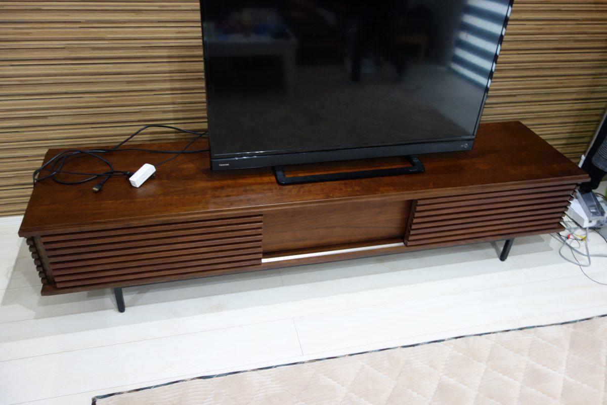 善通寺市にシギヤマ・ボルダ/テレビボードを納品