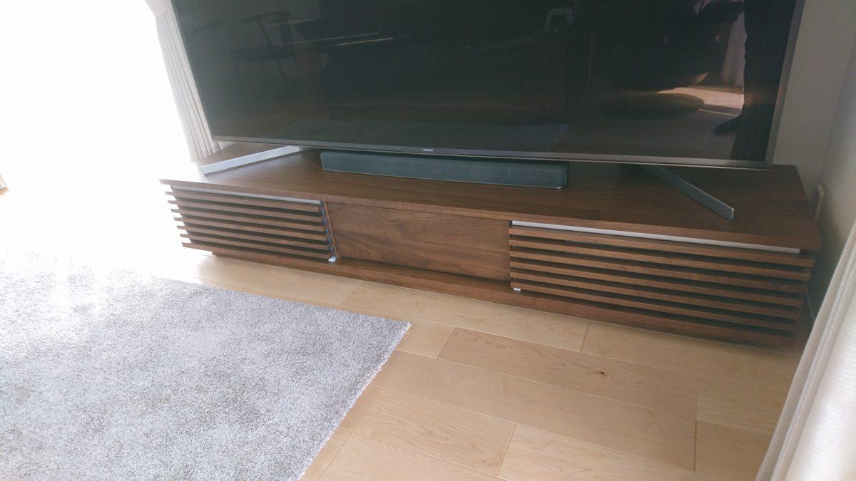 高松市に柏木工・セイスTVボードを納品