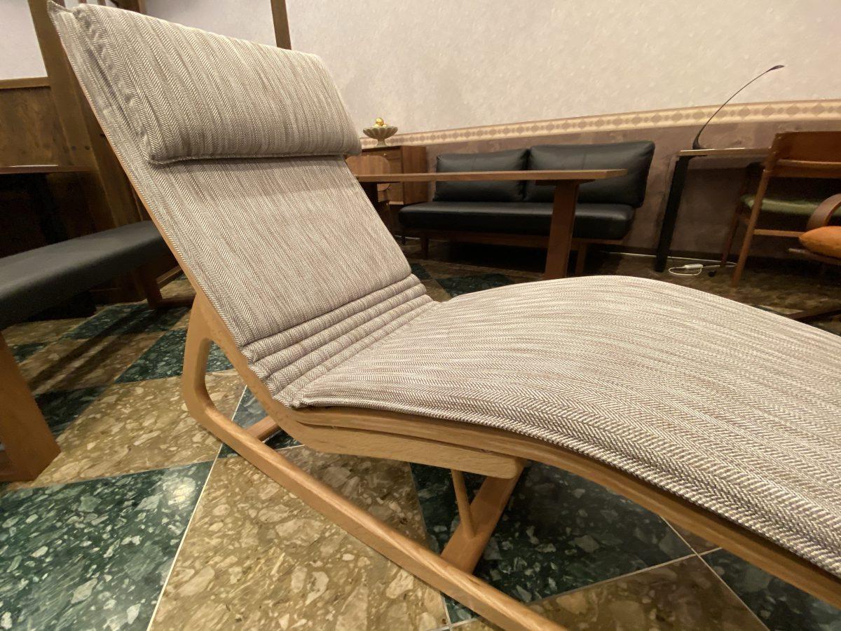【2021・柏木工セール】うたたね椅子SLC83A