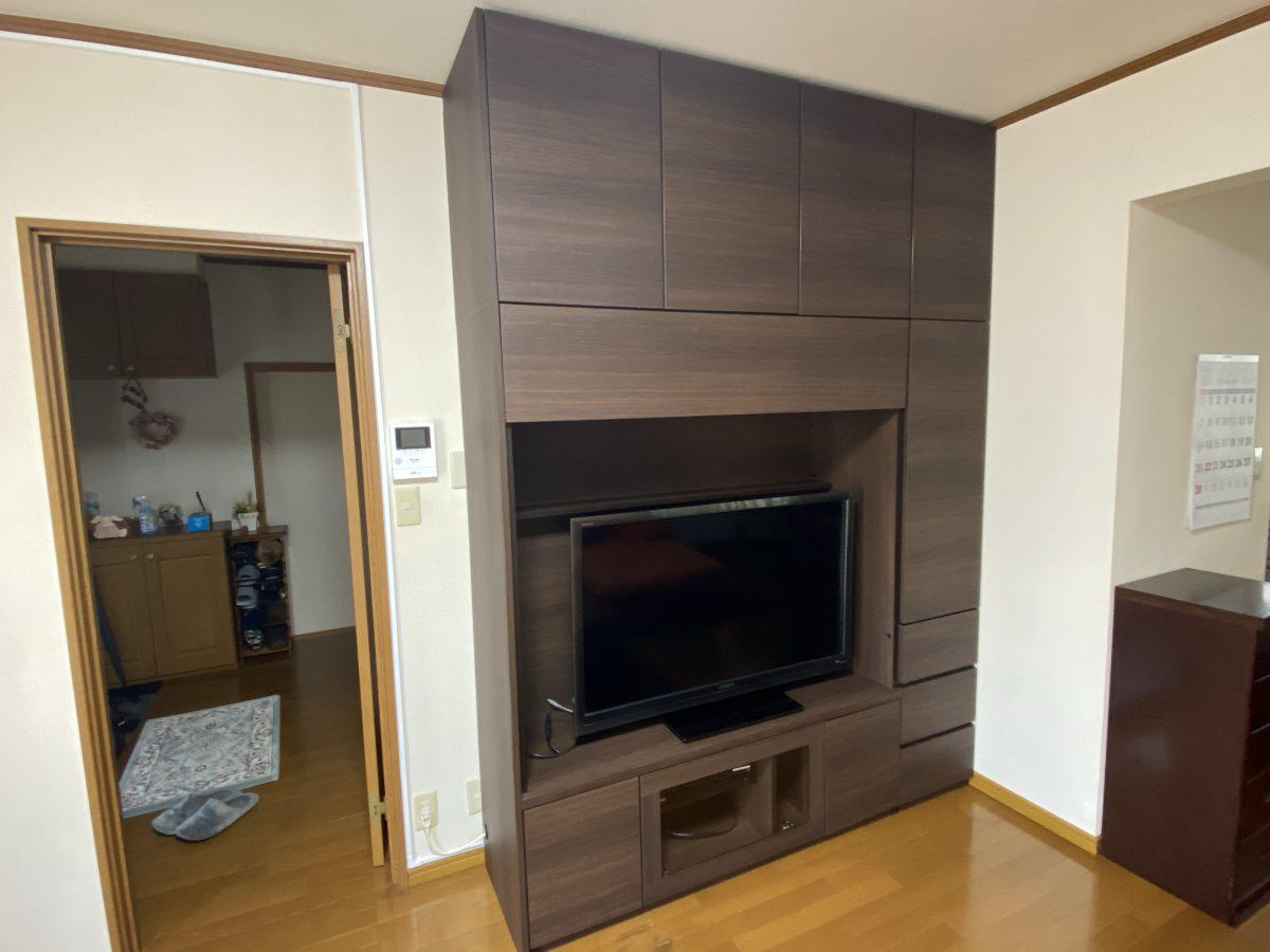 丸亀市にすえ木工・壁面収納・MGver.3を納品