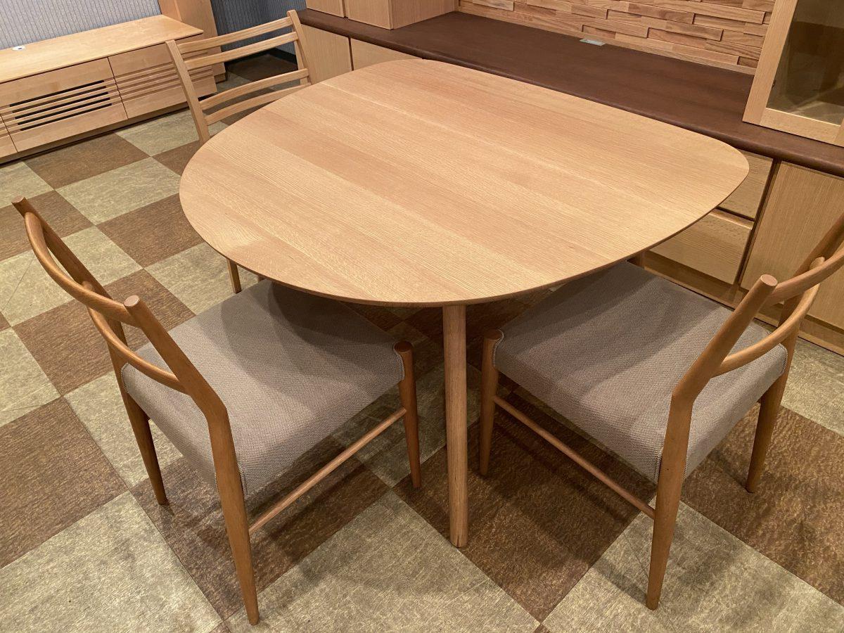【2021・飛騨産業セール】コブリナ・ダイニングテーブルTF331WP