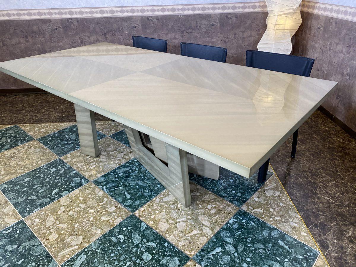 【2021クリアランスセール】松岡家具製造・バスウッドミガキ仕様のテーブル