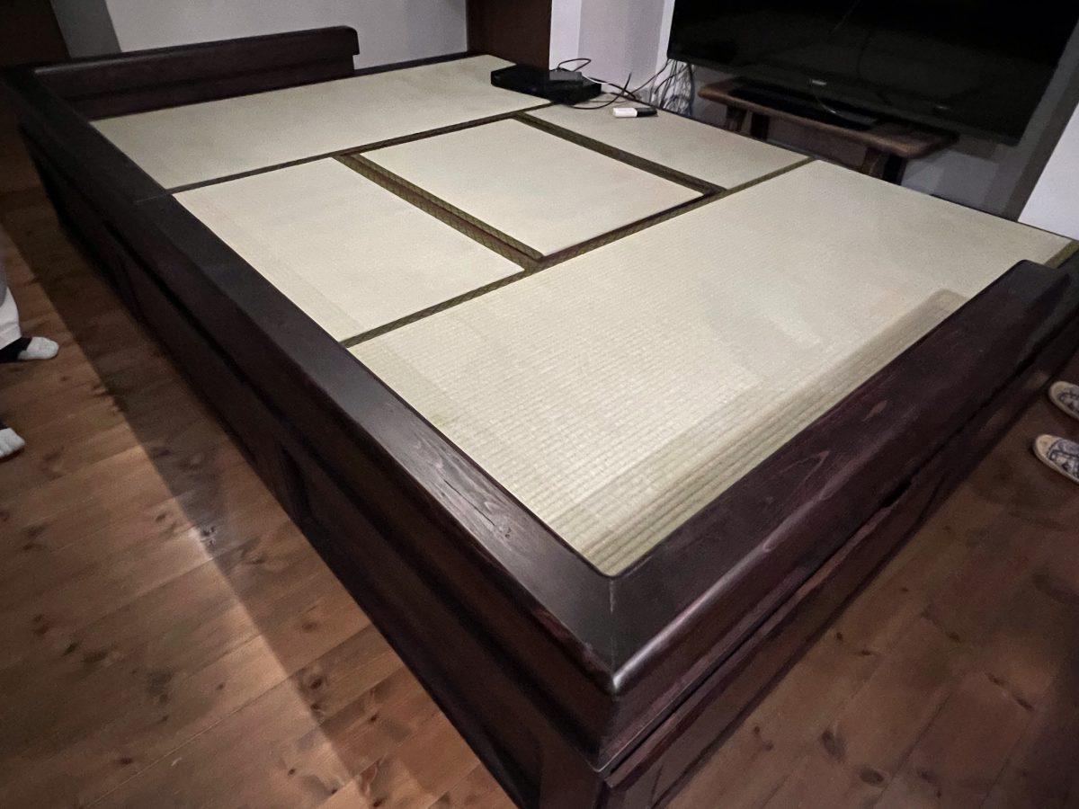 フルオーダー・畳ステージを納品