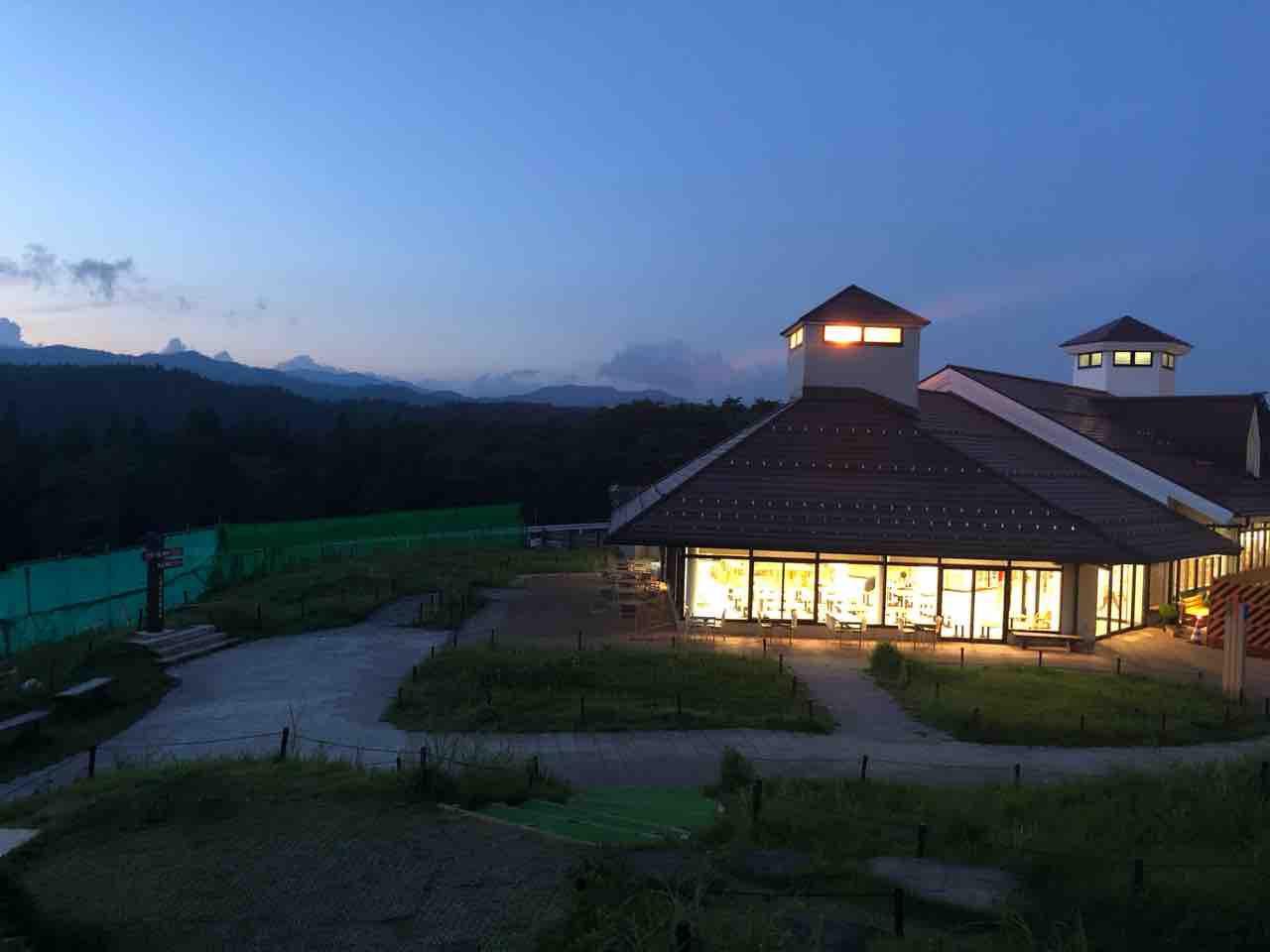 【2019・飛騨高山出張】ひるがの高原サービスエリア