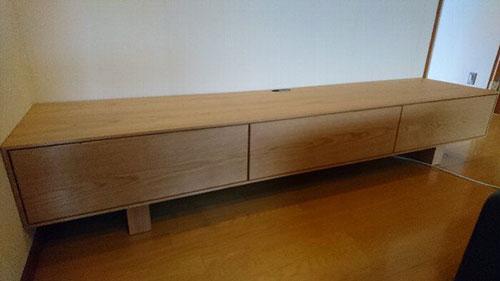 徳島県に柏木工・シビルソファと日進木工・geppoコタツとセミオーダーTVボードを納品